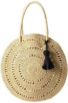 (notitle) - Source by de croche fio de malha quadrada Crochet Tote, Crochet Purses, Crochet Accessories, Bag Accessories, Diy Bags Purses, Diy Handbag, Round Bag, Jute Bags, Basket Bag
