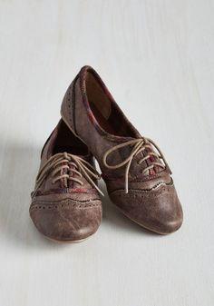 Like Two Peas in the Quad Flat | Mod Retro Vintage Flats | ModCloth.com