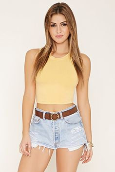 ¡Cómpralo ya!. Burnout Knit Crop Top. details   Style Deals - A sleeveless crop top crafted from a burnout stretch knit.  Content + Care   - 95% cotton, 5% spandex- Machine wash cold- Made in Vietnam  Size + Fit  - Model is 5'8%22 and wearing a Small- Full length: 16%22- Chest: 28%22- Waist: 26%22 , topcorto, croptops, croptop, croptops, croptop, topcrop, topscrops, cropped, topbailarina, corto, camisolacorta, crop, croppedt-shirt, kurzestop, topcorto, topcourt, topcorto, cortos. Top corto…