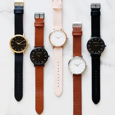 my favorites are the first one the third and the forth but mostly the forth. I saw a brown watch at costco that i really liked like a year ago if someone wants to find it and get it for me lol