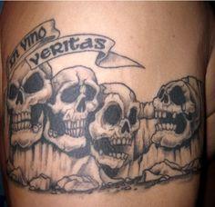 65 Unusual and Creative Devil Tattoo Designs Bad Tattoos, Skull Tattoos, Tattoos For Guys, Devil Tattoo, I Tattoo, Rose Tattoo Black, Latin Tattoo, Dark Rose, Free Tattoo Designs
