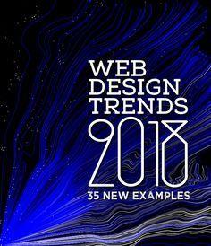 Web Design Trends 2018 – 35 New Examples #designtrends #trends2018 #webtrends2018 #webdesigntrends #webdesign2018 #webdesigning