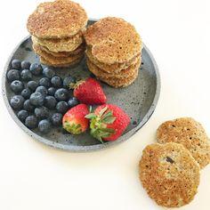 Sunde og mættende pandekager til ungerne. Perfekte til madpakken