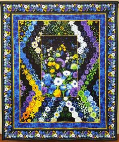 An Inside Look at Elizabeth Granberg's Hexified Panel Quilt!