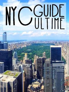 Transports, accomodation, places to eat, everything you need to know to prepare your trip to New York City the best way possible! Voyage Usa, Voyage New York, Blog Voyage, Central Park, Empire State Building, North And South, Orlando, Destinations, New York City Travel