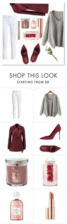 """My second stile♡"" by levkesievert ❤ liked on Polyvore featuring Barbour, Proenza Schouler, Sergio Rossi, Yankee Candle, Guerlain and Estée Lauder"