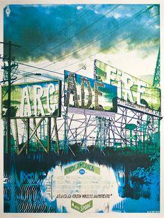 Arcade Fire - US Summer 2010 Tour (por Landland - http://landland.net/)