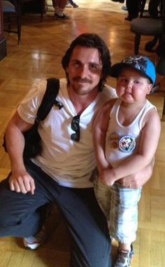 Christian Bale takes a 4 year old fan with leukemia to Disneyland. He continues to show how much of a real hero he is
