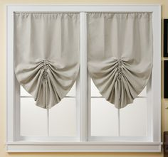 Looking for curtains to dress up your windows? Shop our extensive selection of valances, curtain panels, blinds and more at Collections Etc. Roll Up Curtains, Colorful Curtains, Curtains With Blinds, Drapes Curtains, Drapery, Curtain Rod Holders, Collections Etc, Custom Drapes, Blinds For Windows