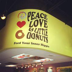 Kamm's Corner.  Great donut shop! Peace Love & Little Donuts