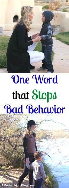 Bad behavior kids toddlers parenting tips moms teaching young children #ParentingTips