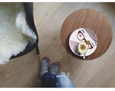 Get cosy! Our Johnny Plate at home with @sisi_sisishop x http://www.donnawilson.com/?p=669