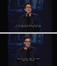 from Hannah Gadsby: Nanette, exclusively on Netflix