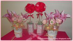 Cute dreams and Fantasy: Comunión rosa de Paula !!!
