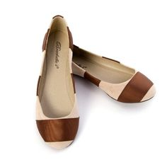 Breckelles Women's ERIKA08 Ballet Stripped Ribbon Ballerina Shoes Flat Sandals Loafer, Blush Brown Faux Suede List Price:$62.99 Price:$29.99