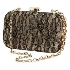Scarlet lace box clutch ❤ liked on Polyvore featuring bags, handbags, clutches, purses, handbags clutches, lace handbag, hand bags, hard clutch and purse clutches