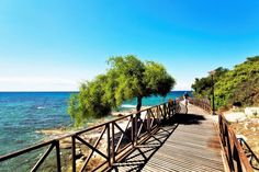 Take an afternoon walk on the #Limassol #Boardwalk and feel the fresh breeze as you keep active on a beautiful sunny day. Shared by Nikki at pissouribay.com.