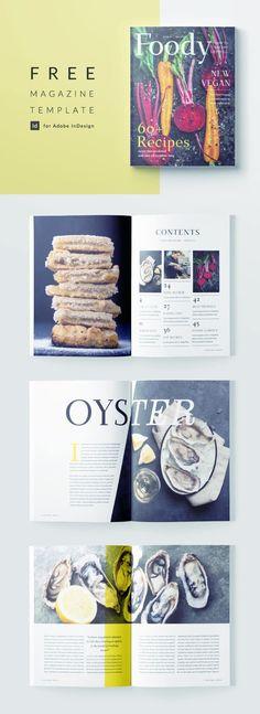 43 Best food magazine layout images in 2020   Menu design