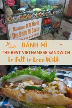 """""""That's a symphony in a sandwich"""" is how Anthony Bourdain described the most famous Vietnamese sandwich called the Bánh Mì."""