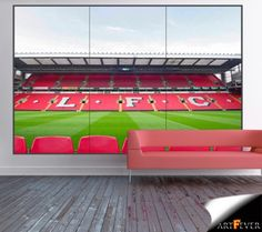 1000 images about window illusion murals on pinterest for Emirates stadium mural