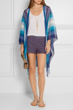 Missoni | Crochet-knit shorts | NET-A-PORTER.COM