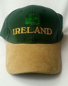 8f08cc484bd05 Guinness Green Embroidered HARP Baseball Cap Irish Ireland Adjustable Hat  New
