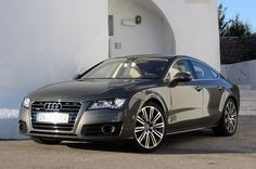 Audi A7 - a technical marvel...a jewel among cars...has a combination of luxurious driving with sporting capabilities...and of course how could i miss it..Bang & Olufsen stereo...
