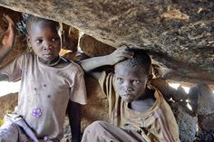 """The people in the Nuba region of Sudan are being murdered, driven from their homes, and are """"living"""" in caves with no food!  Why doesn't NBC cover these atrocities???"""