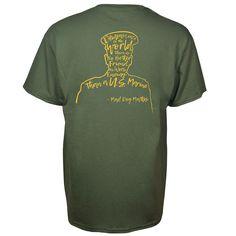 Mens Acid Washed Army EST 1775 Denim Sleeveless Cutoff Biker Shirt