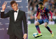 Neymar.  Damn. I like soccer now. GO BRAZIL!! lol