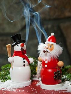 Hand-Carved German Incense Smokers Add a Traditional Touch To Your Holiday Decor