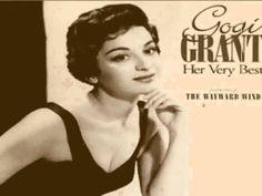 Gogi Grant - The Wayward Wind (with lyrics)