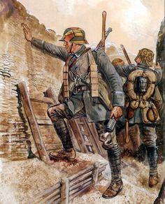 1918 German Stormtroopers - Gerry Embleton
