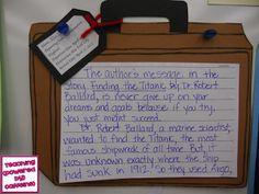 Titanic Response to Literature.  Teaching (Powered by Caffeine)