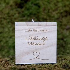 Teelichthalter Lieblingsmensch | | GUFRU  #vatertag #vatertag2020 #vatertaggeschenk #geschenkideen Place Cards, Place Card Holders, Hang In There
