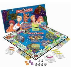 Scooby Doo Monopoly, Fright Fest Edition USAopoly http://www.amazon.com/dp/B0007Z2JKW/ref=cm_sw_r_pi_dp_P9QLtb07E4ZG4JPS