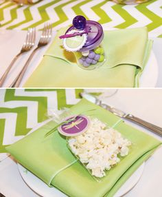 Dragonfly Baby Shower {Ombre Chevron Stripe} // Hostess with the Mostess®