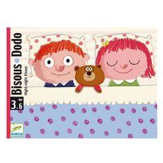 Un bisou, deux bisous, plein de bisous et au dodo... Un très beau jeu pour les tout-petits avant d'aller se coucher.