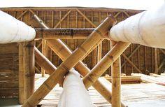 Cali, Colombia: Escuela de Bambú inicia campaña para finalizar su construcción,©…