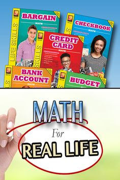 """Fun, visual and practical math workbooks for kids. Kids   learn to apply their math skills in real life situations...no more questions, """"why do I have to learn this?!?!"""" See also, Menu Math, Shopping Around Town Math, Market Math and much more!!"""