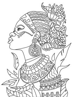 Africa Coloring Pages Omeletozeu