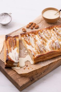 Galton Blackiston serves up a classic pear dartois recipe with lashings of brandy custard.