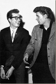 Buddy Holly and Don Everly.