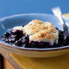Blueberry Cobbler Recipe | MyRecipes.com