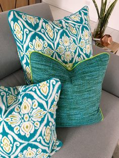 Indoor Outdoor, Cushions, Throw Pillows, Etsy, Toss Pillows, Toss Pillows, Pillows, Decorative Pillows, Pillow Forms
