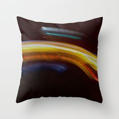 Ethereal Rainbow Throw Pillow by Lisa De Rosa-Essence of Life Photography