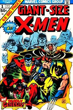 "Giant-Size X-Men ""Number 1"" (May, 1975)"