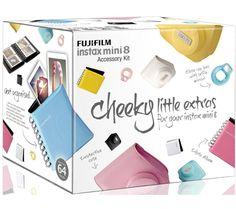 FUJIFILM Instax Mini8 Accessory Kit - Pink