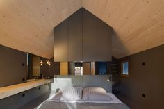 Holzhaus Am Auerbach - Picture gallery #architecture #interiordesign #bedroom