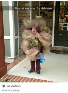 Parenting fail or parent of the year??!! This kid is a fart...
